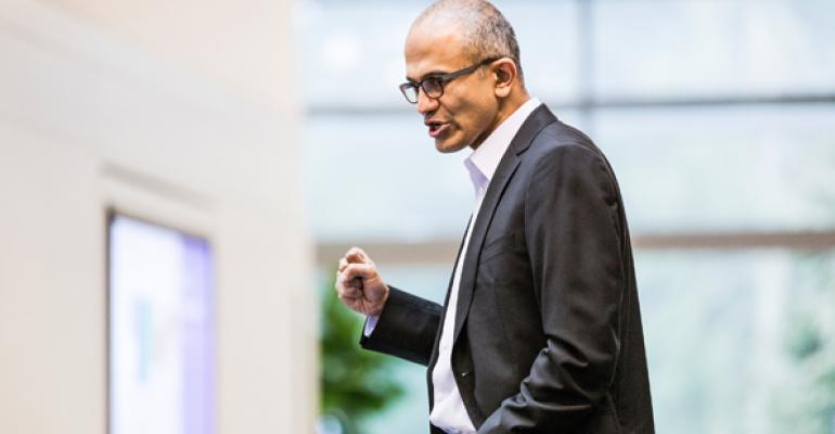 Microsoft Looking to the Cloud with New CEO