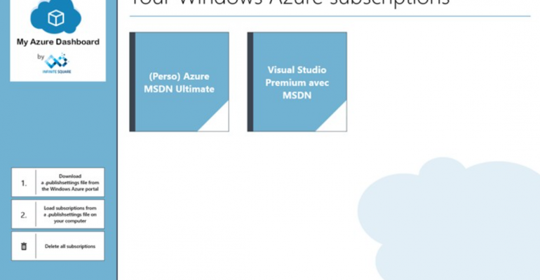 My Azure Dashboard Brings Simple VM Management to Windows 8.1