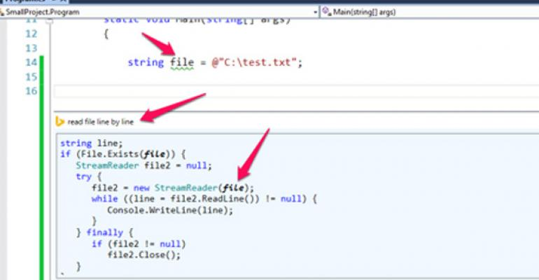 New Visual Studio 2013 extension now lets you easily search MSDN  StackOverflow