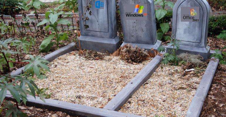 Death Comes in Threes: Windows XP, Office 2003, Exchange 2003
