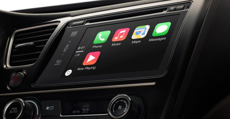 Apple Rolls Out CarPlay Platform for Automobiles