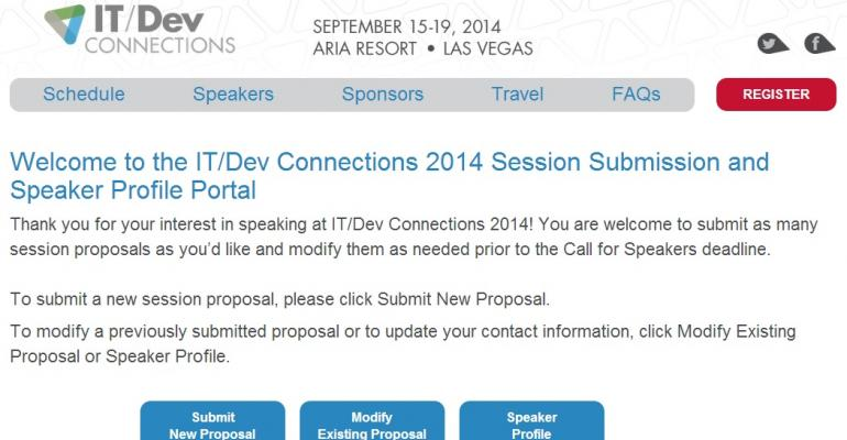 Wanted: Great speakers for Exchange Connections 2014 | IT Pro