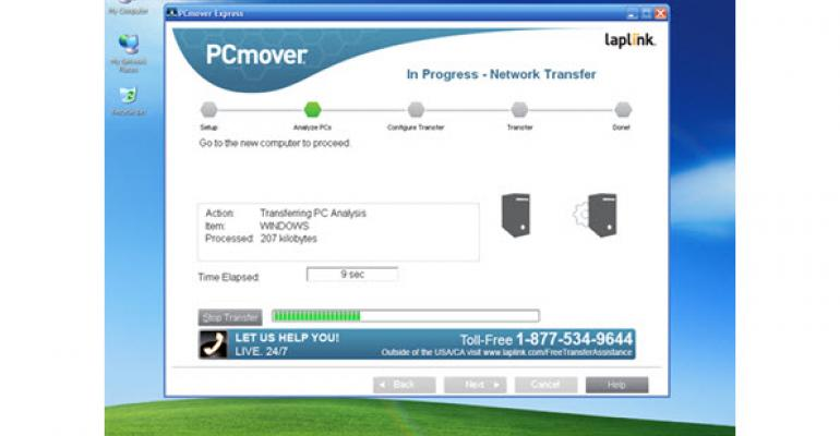 Microsoft Partners with Laplink to Move Windows XP Users' Data for Free