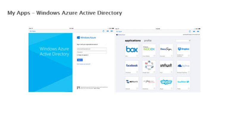 Windows Azure Active Directory for iPhone and iPad