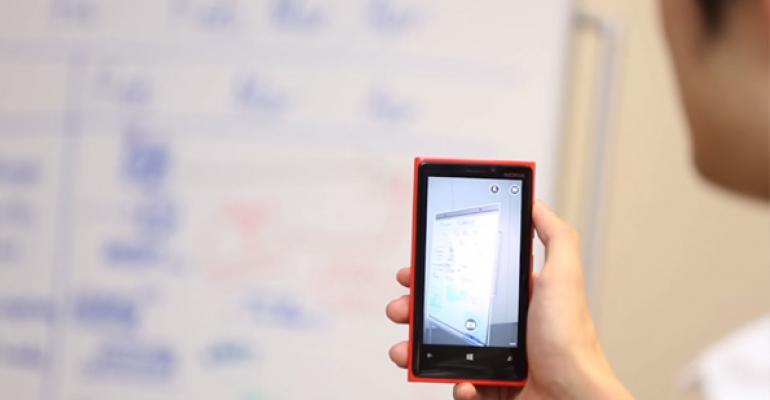 OneNote + Office Lens for Windows Phone 8