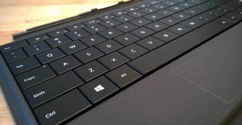Surface Pro + Surface Power Cover