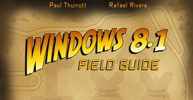 "This Week in ""Windows 8.1 Field Guide"": 1.0"