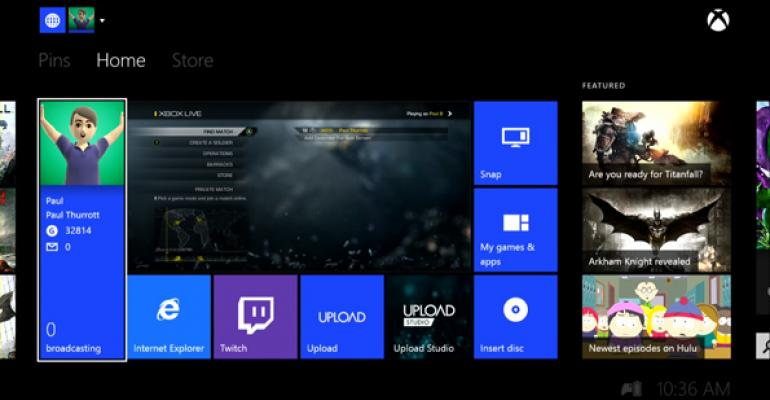 Xbox One March 2014 System Update