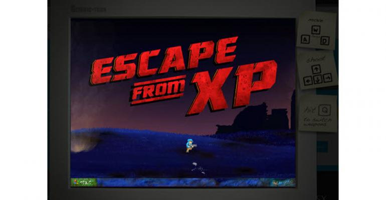 Get Your Windows XP Fix with Microsoft's Escape from XP Game
