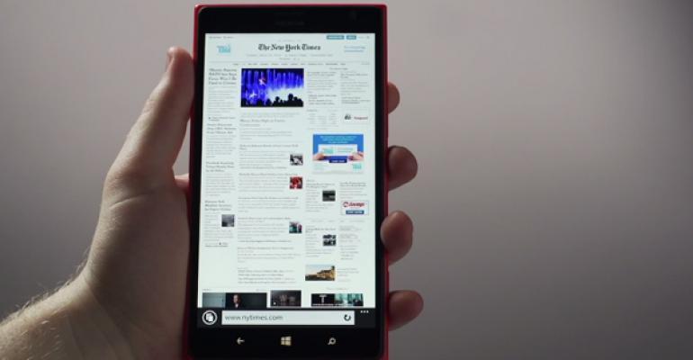 Windows Phone 8.1 Tip: Master IE 11 Navigation