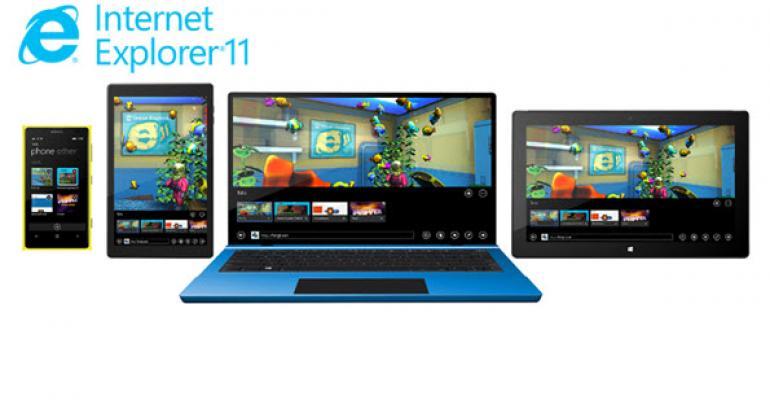 IE11 Enhancements Coming to Windows 8.1, Windows 7, Windows Phone 8.1