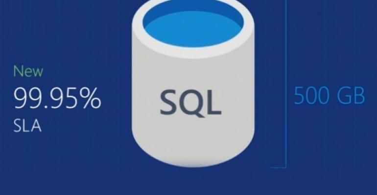 Microsoft Announces New Azure SQL Database Tiers