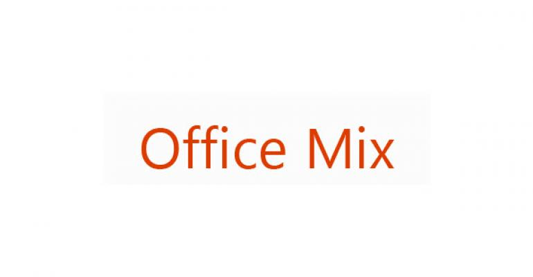 Office Mix Soon to Release in Preview, Targeted Toward Educators