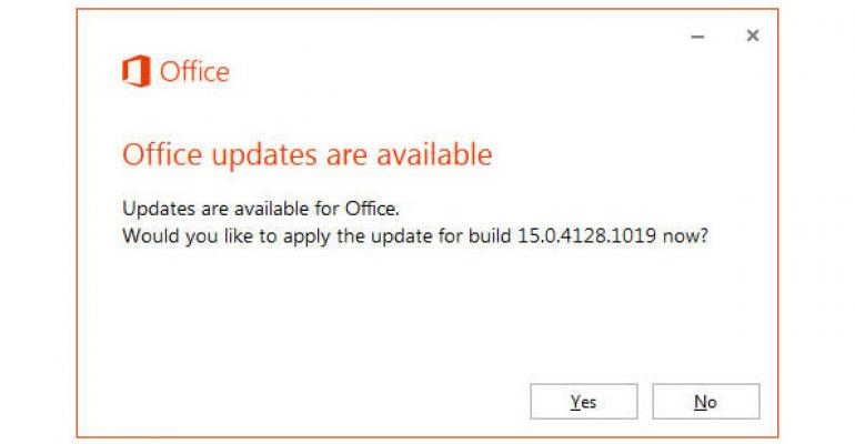 Command-line Options for Updating Office 2013 in Service Pack 1