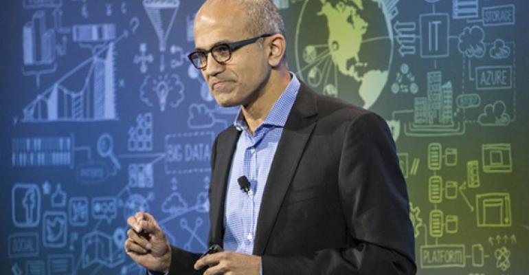 Satya Nadella shares Microsofts plan to make data available to enterprises and