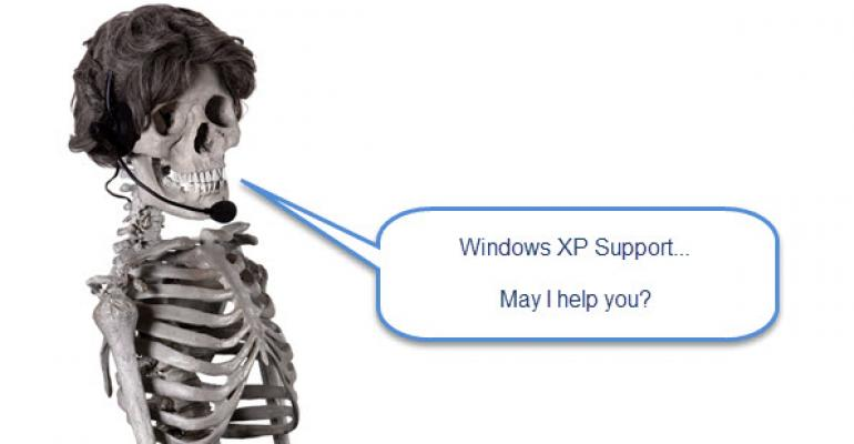 Voice from the Grave: High Number of Windows XP Users Were Just Unaware