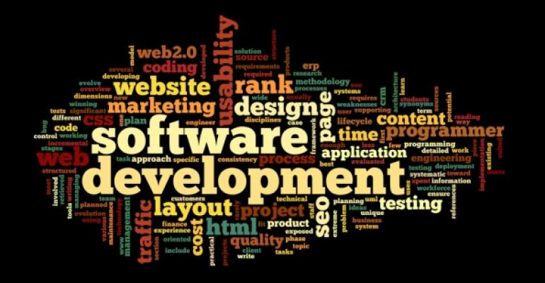 software development word cloud