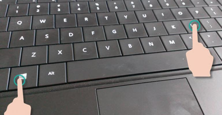 Surface Tip: Quick Lockdown