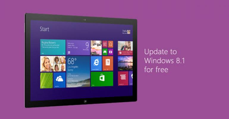 MSDN Subscribers to Get Windows 8.1 Update 1 a Few Days Early on April 2nd