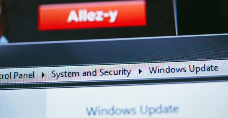 Windows 8 Receives Its Own Strange Upgrade-related Update