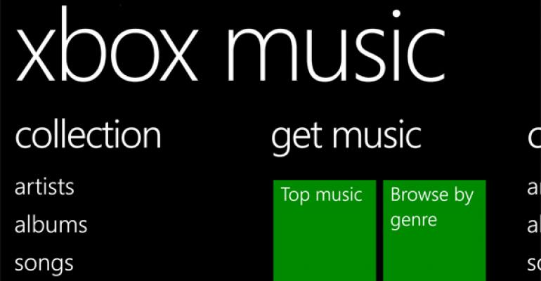 Microsoft Releases First Update to Xbox Music for Windows Phone 8.1