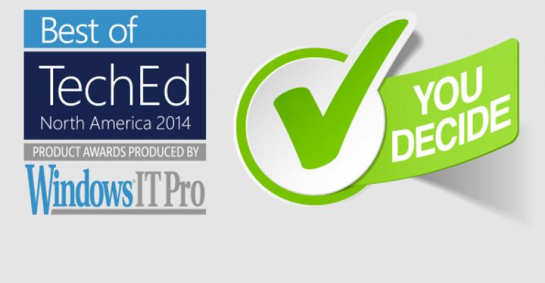 Announcing Our Best of TechEd 2014 Winners!