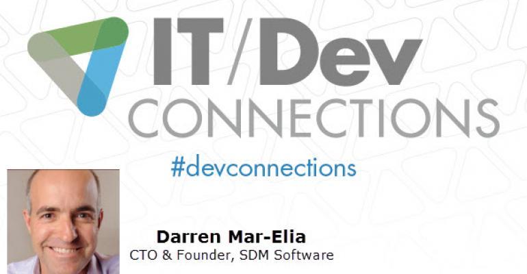 IT/Dev Connections 2014 Speaker Highlight: Darren Mar-Elia