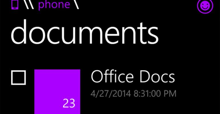 File Manager App Coming to Windows Phone 8.1