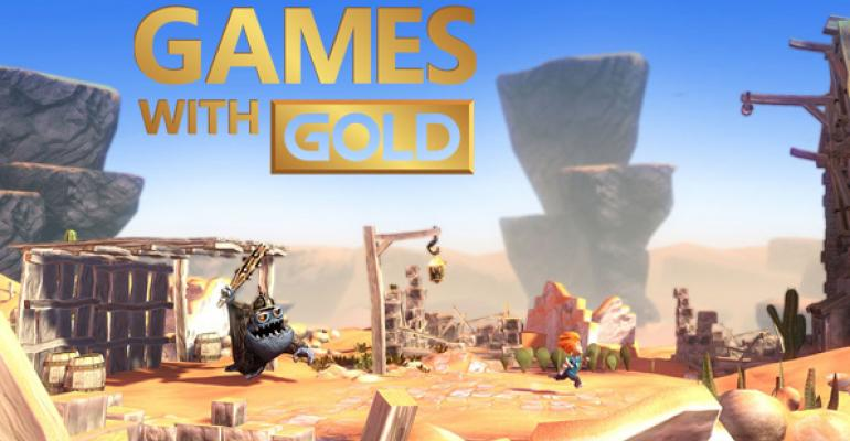 """First Xbox One """"Games with Gold"""" Offerings on Tap in June"""