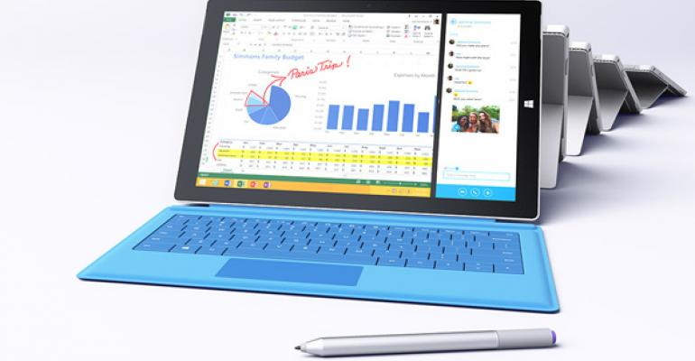Surface Pro 3: Portability