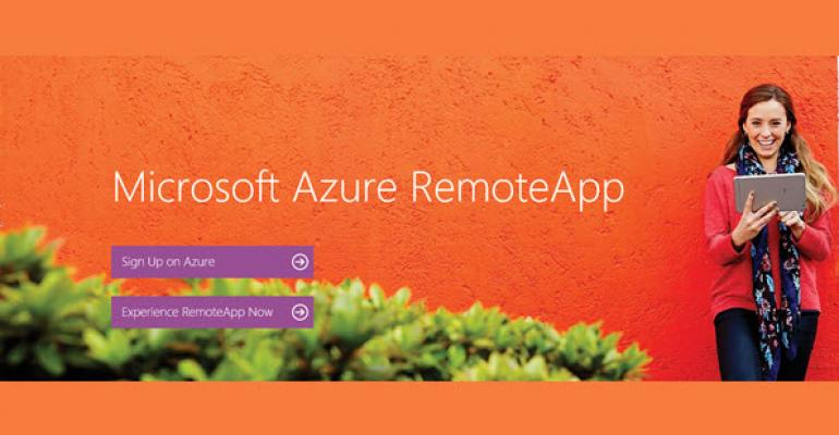 Run Apps from Azure on Any Device Using Microsoft RemoteApp