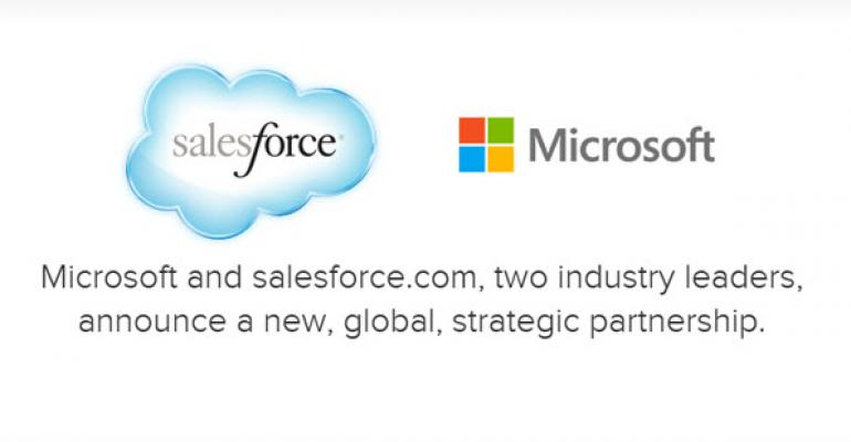 Microsoft and Salesforce Team Up for Integrations and New Apps