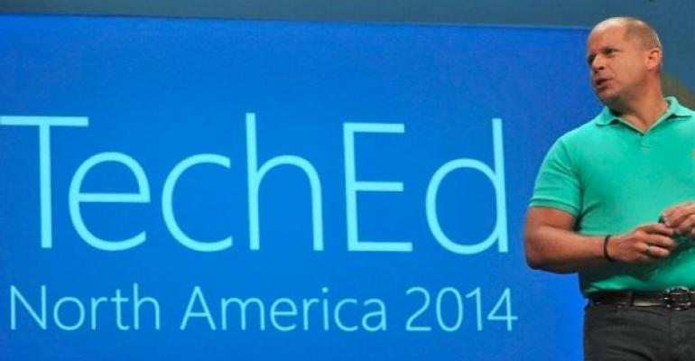 Brad Anderson speaking at Microsoft TechEd 2014
