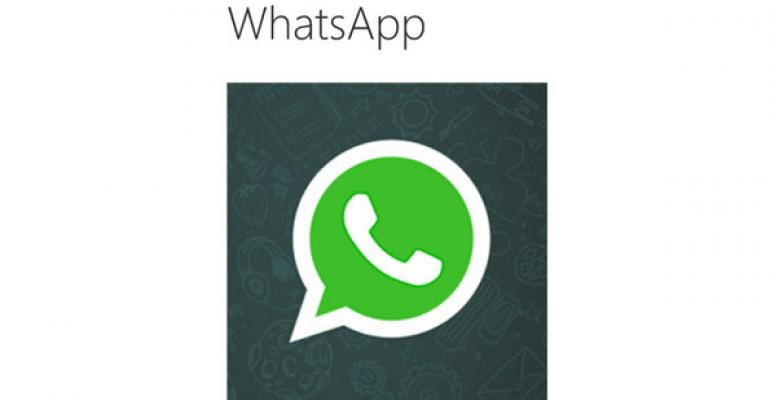 WhatsApp Returns to the Windows Phone Store with Fixes and New Features