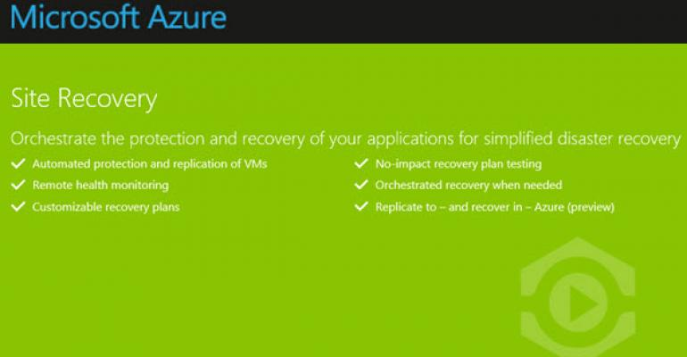 Encrypting Data with Azure Site Recovery