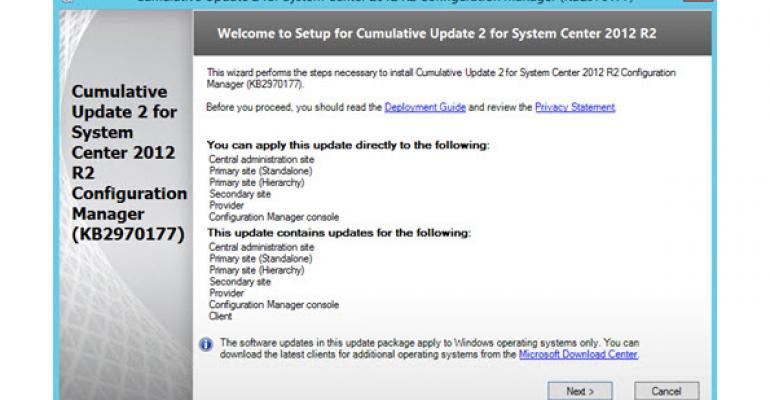 ConfigMgr 2012 R2 CU2 Releases in a Fix Fest