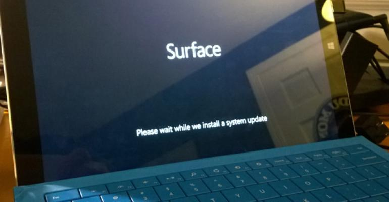 Microsoft Delivers First Firmware Update for Surface Pro 3
