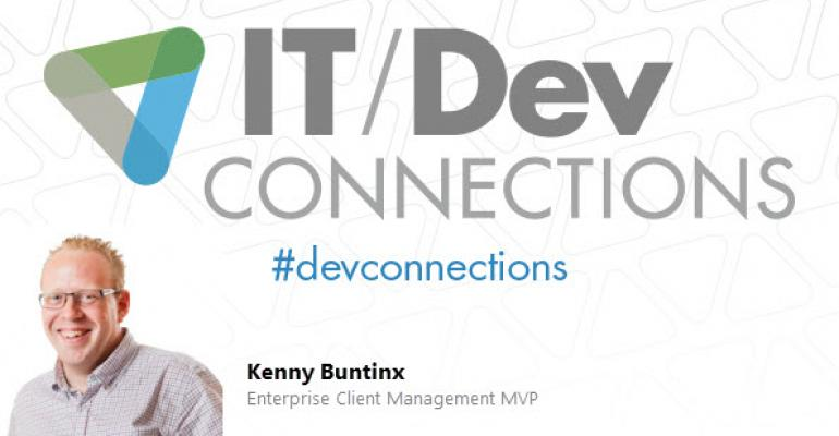 IT/Dev Connections 2014 Speaker Highlight: Kenny Buntinx