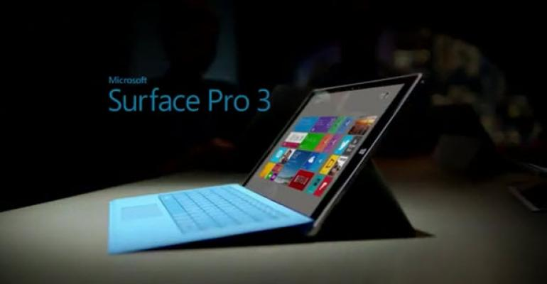 First Microsoft Surface Pro 3 Ad Hits All the High Spots
