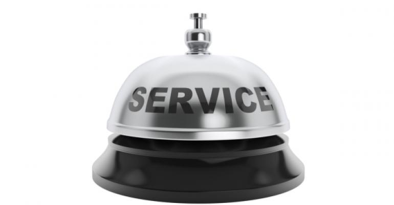 bell for service request