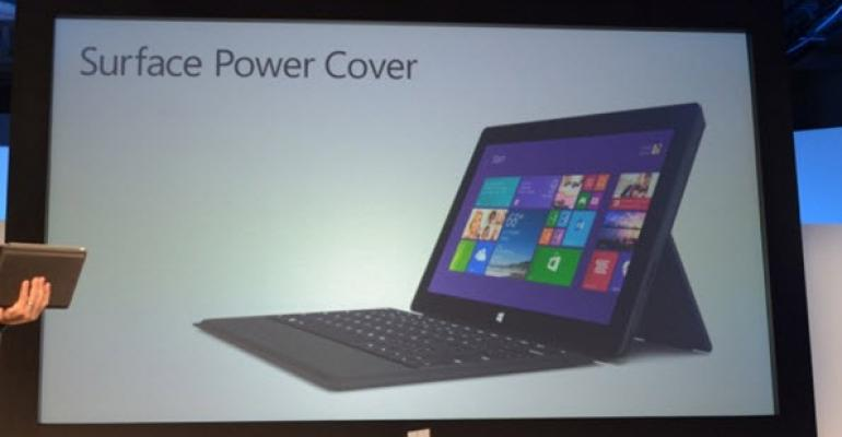Steps to Get a Full Charge for the Surface Power Cover