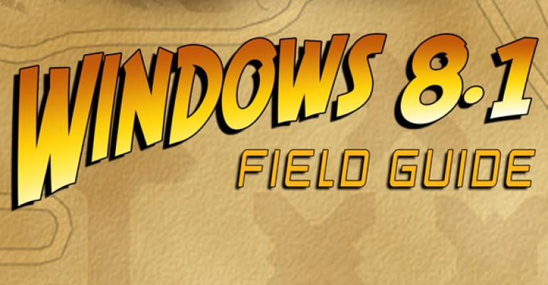 """Moving """"Windows 8.1 Field Guide"""" Past 1.0"""