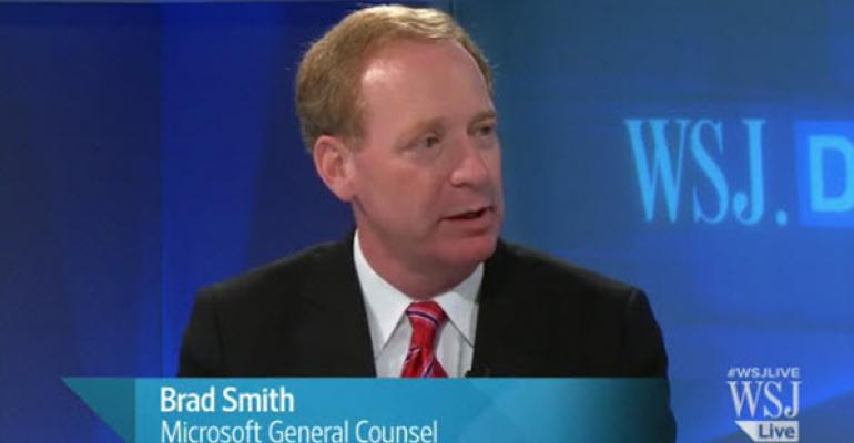 Microsoft's Brad Smith on Why Microsoft Opposes Government Demands for Personal Information