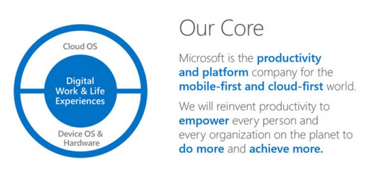 What Satya Said: Notes from Microsoft's Q4 2014 Earnings Conference Call