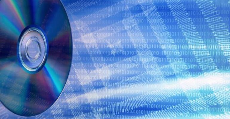 data stored on disk