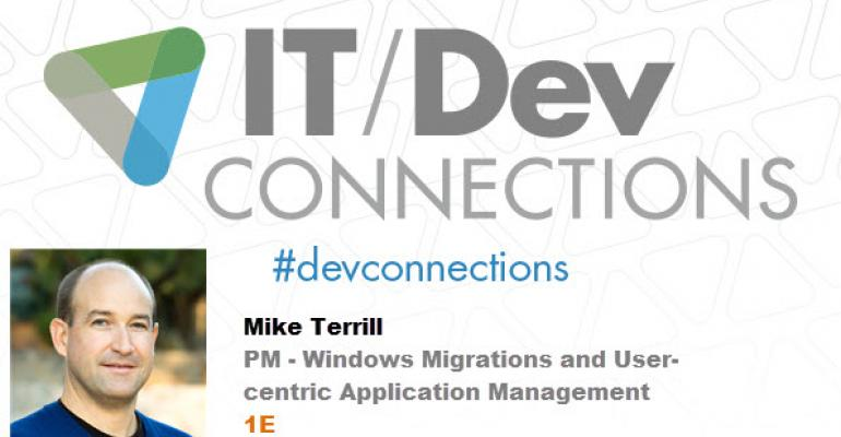 IT/Dev Connections 2014 Speaker Highlight: Mike Terrill