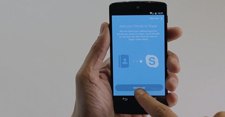 Skype 5.0 for Android