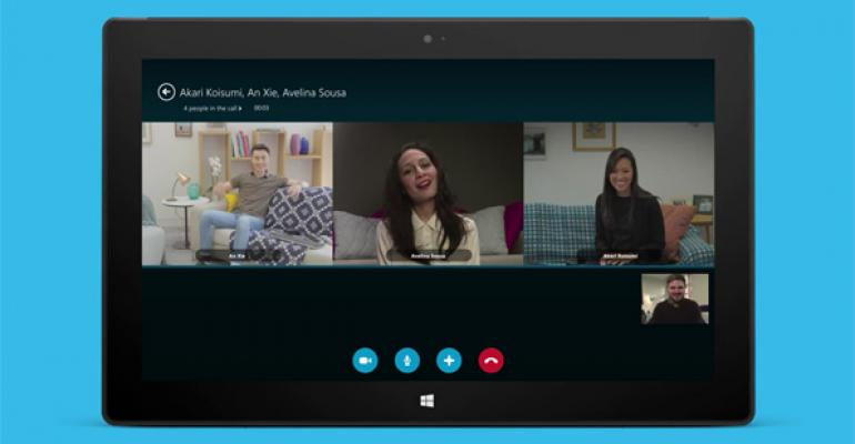 Skype Group Video Calling Comes to Modern Windows App