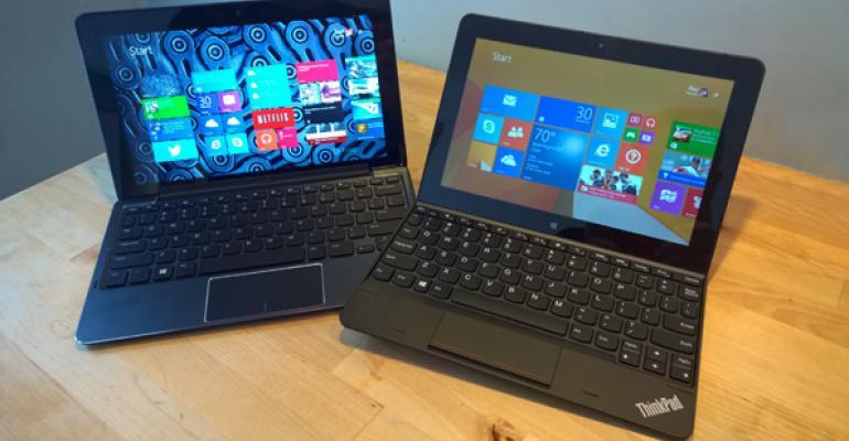 Lenovo ThinkPad 10 vs. Dell Venue 11 Pro