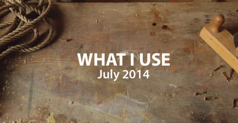 What I Use: July 2014